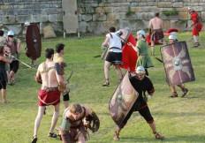 la compagnie senlisienne du patrimoine spectacle les dieux de l'arène