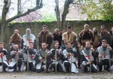 la compagnie senlisienne du patrimoine spectacle les 9 templiers de senlis